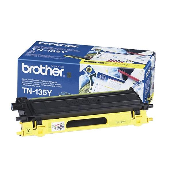 Brother TN135Y High Capacity Yellow Toner Cartridge - TN135Y