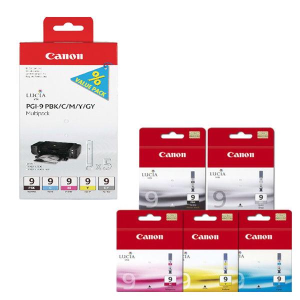Canon PGI-9 Black and Colour Ink Multipack - 1034B013