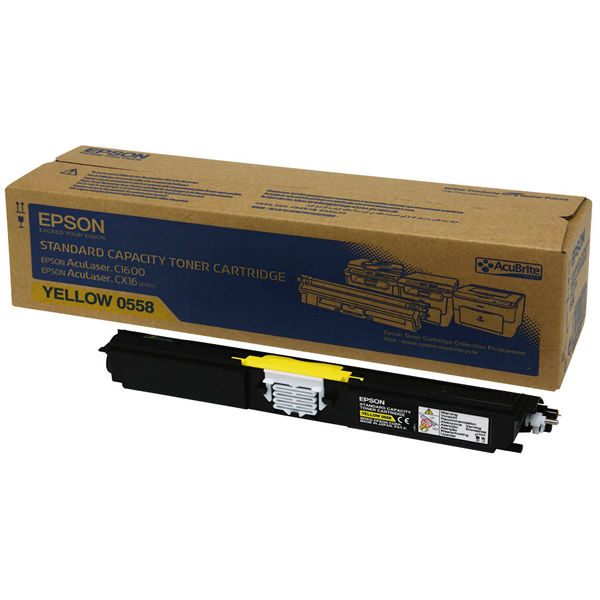 Epson C1600 Yellow Toner Cartridge - C13S050558