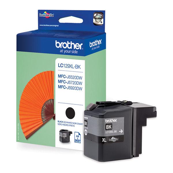 Brother LC129XLBK Black Ink Cartridge - High Capacity LC129XLBK