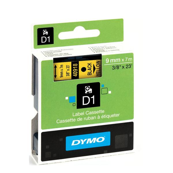 Dymo D1 Standard Label Tape Black on Yellow - S0720730