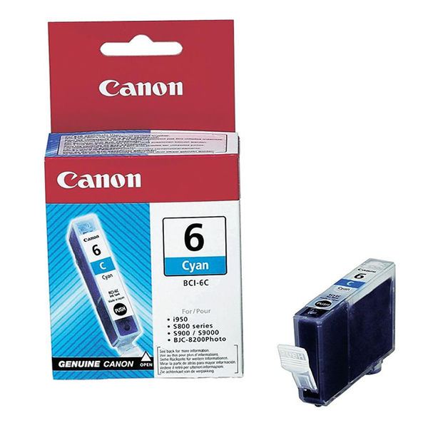 Canon BCI-6C Cyan Ink Tank Cartridge - 4706A002