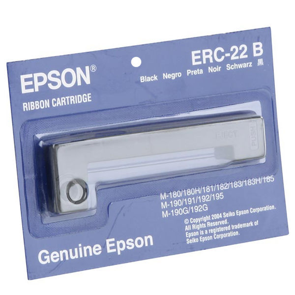 Epson ERC22 Black Fabric Ribbon - C43S015358