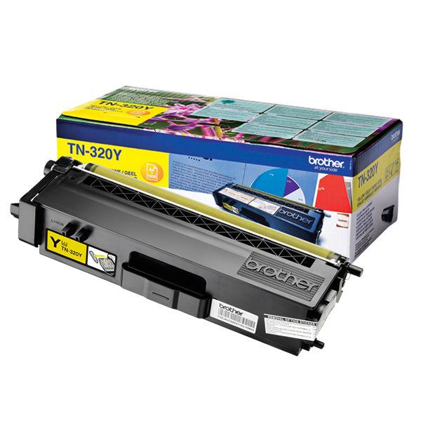 Brother TN-320Y Yellow Laser Toner Cartridge - BA67937