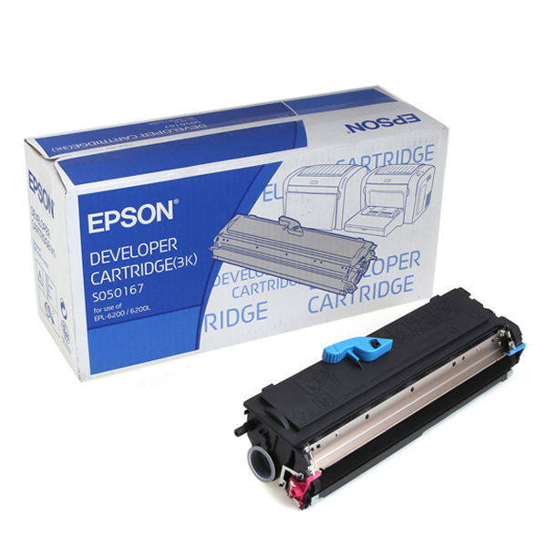 Epson EPL6200 Black Toner Cartridge - C13S050167