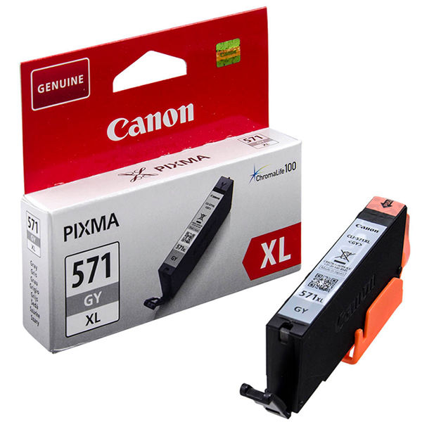 Canon CLI-571XL Grey Ink Cartridge - High Capacity CLI-571XL GY