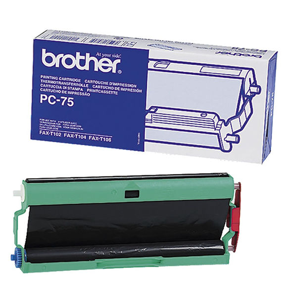 Brother Black Thermal Transfer Ribbon Ink Film - PC75