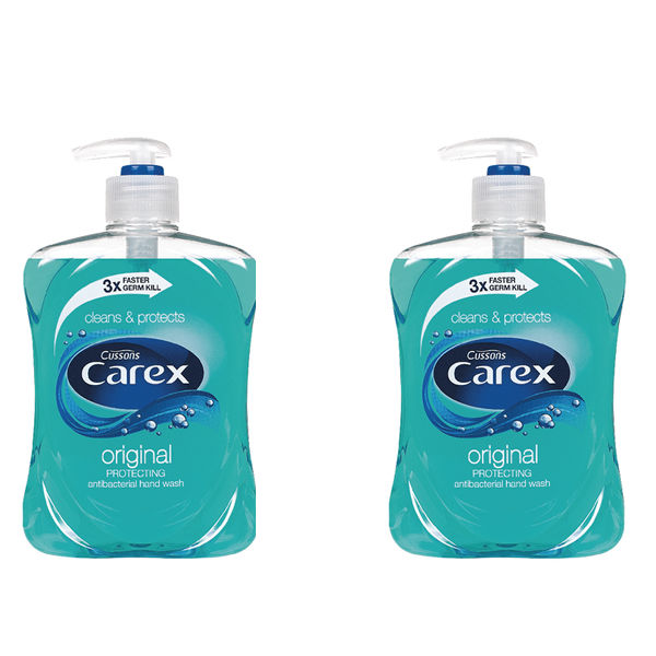 Carex 500ml Original Liquid Soap, Pack of 2 - KJEYS5002
