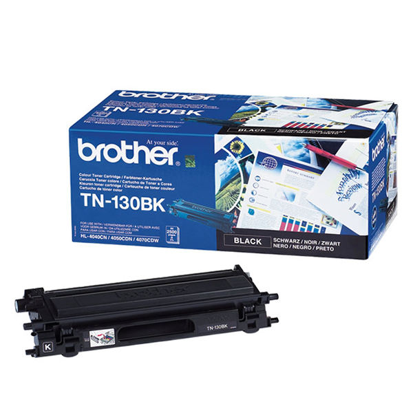 Brother TN130BK Black Toner Cartridge - TN130BK