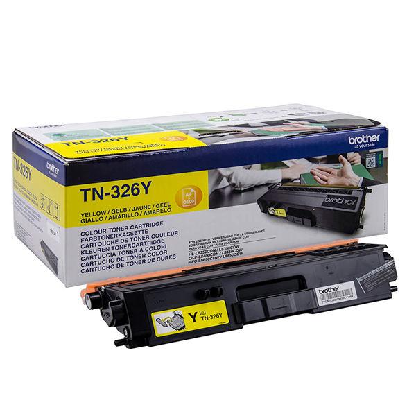 Brother TN326Y High Capacity Yellow Toner Cartridge - TN326Y