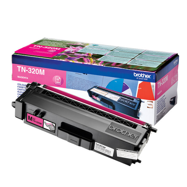 Brother TN-320M Magenta Laser Toner Cartridge - BA67936