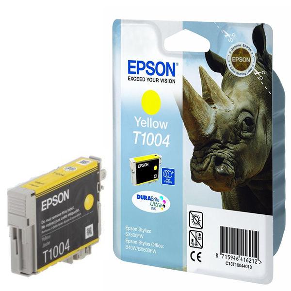 Epson T1004 Yellow Ink Cartridge - C13T10044010