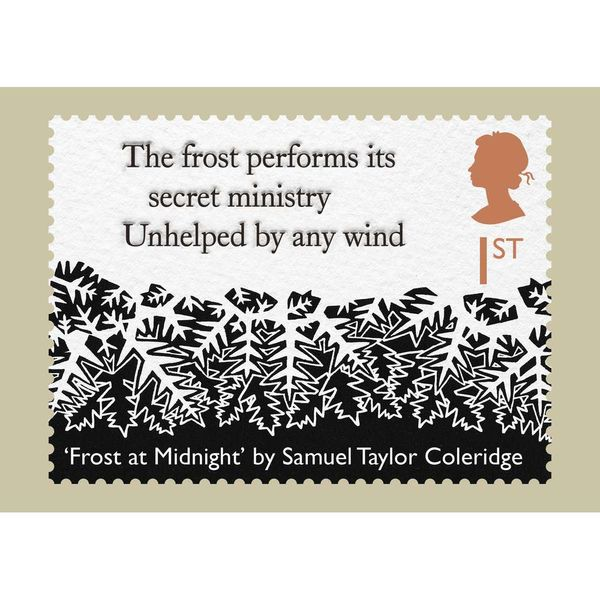 The Romantic Poets Stamp Card Pack