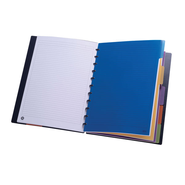 Staples Dividers 5-Part A5 Assorted Colours 8851092