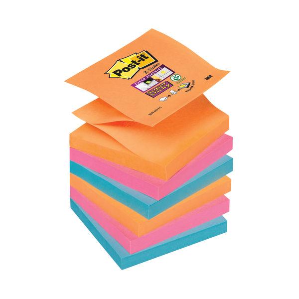 Post-it Super Sticky Z 76 x 76mm Bangkok (Pack of 6) 70-0051-9785-3
