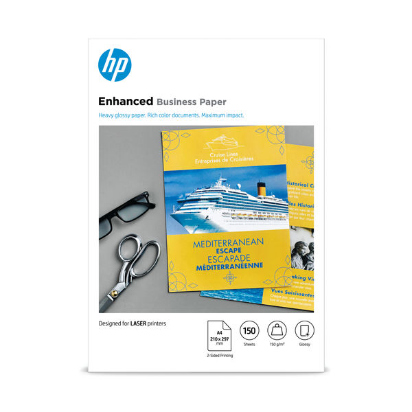 HP A4 Enhanced Business Paper 150gsm (Pack of 150 Sheets) – CG965A
