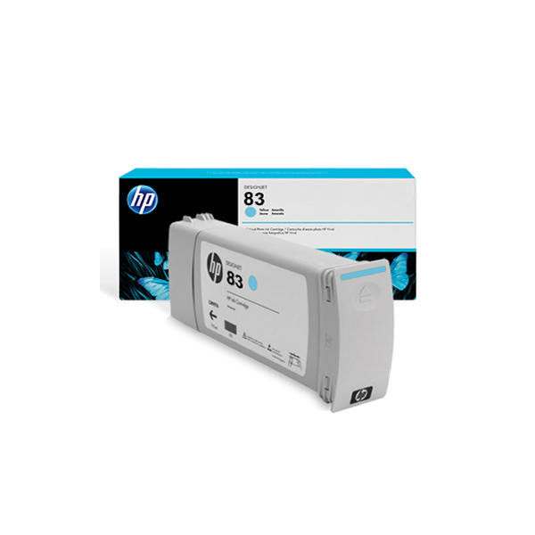 HP 83 UV Light Cyan Inkjet Cartridge 680ml | C4944A