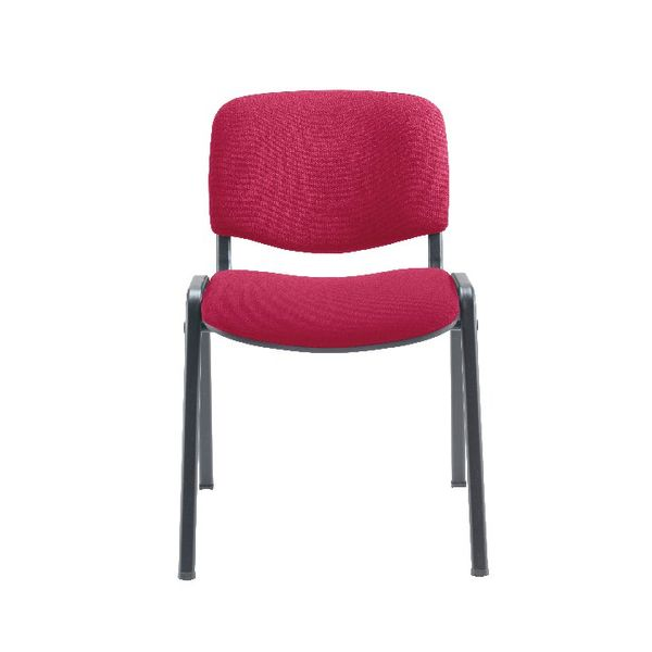 Jemini Ultra Claret/Black Multipurpose Stacking Chair