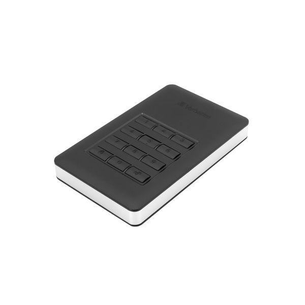 Verbatim 2TB Store n Go Secure Portable HDD USB 3.1 Hard Drive - 53403