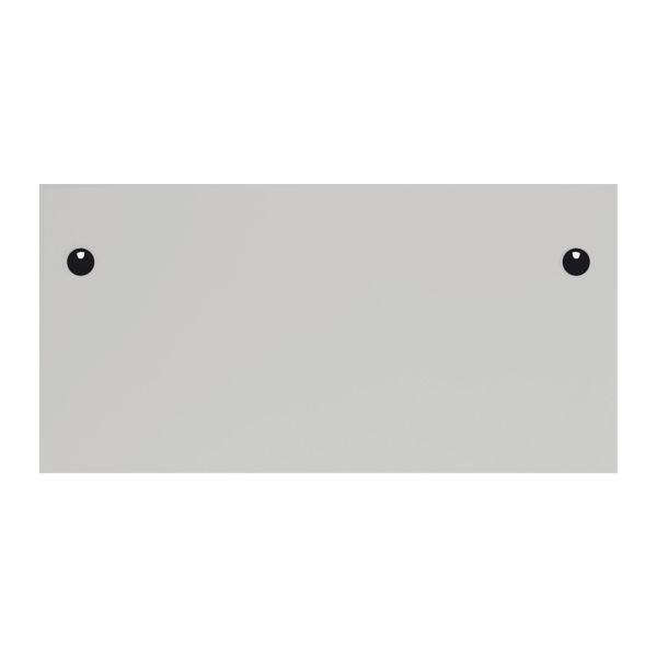 Jemini 1600x800mm White/Silver Single Rectangular Desk