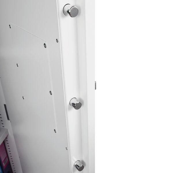 Phoenix White Fire Ranger Cabinet Size 1 Key Lock FS1511K