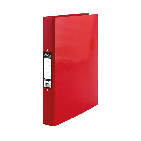 Pukka Brights Ringbinder A4 Red (Pack of 10) BR-7766