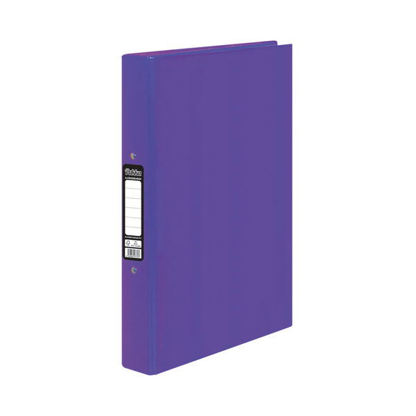 Pukka Brights Ringbinder A4 Purple (Pack of 10) BR-7770