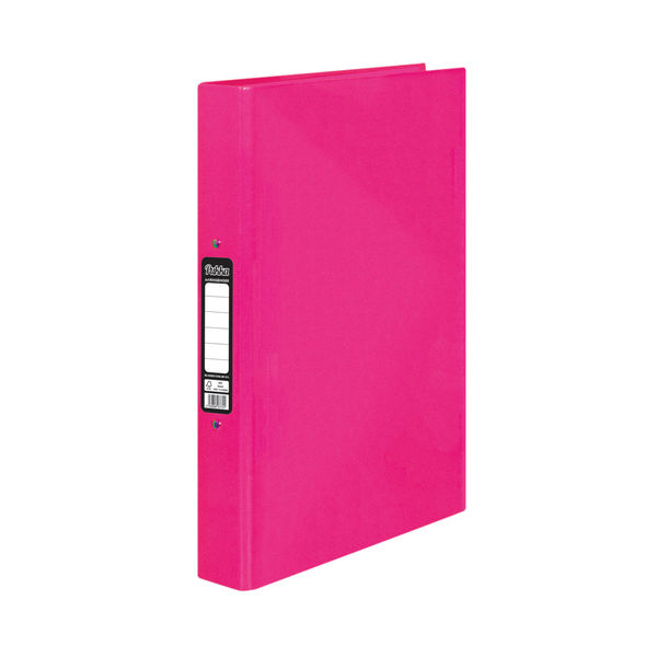Pukka Brights Ringbinder A4 Pink (Pack of 10) BR-7772