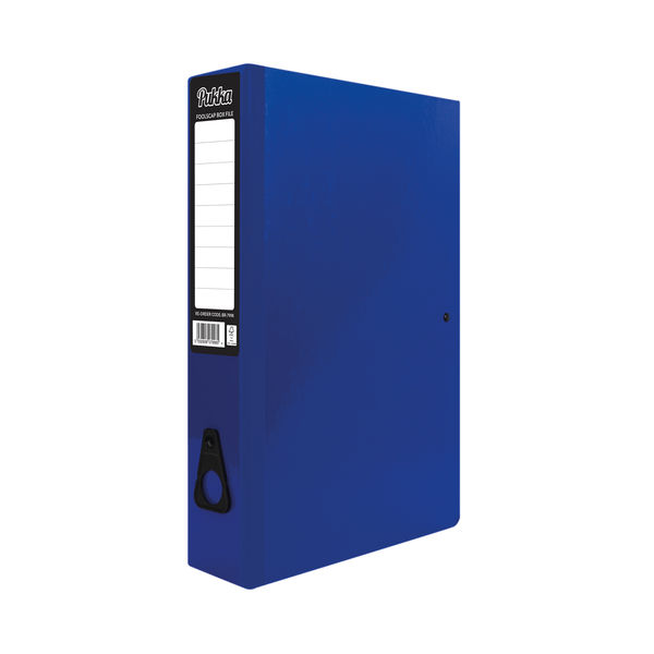 Pukka Brights Box File Foolscap Navy (Pack of 10) BR-7998