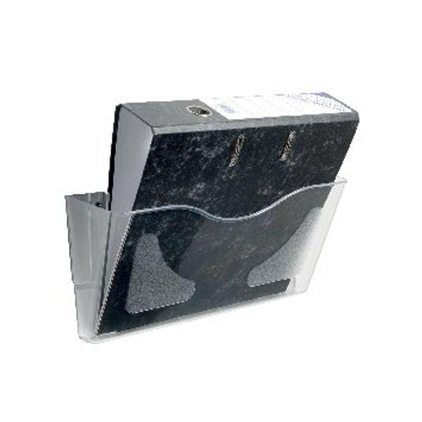 Deflecto A4 Crystal Landscape Literature File - CPO74YTCRY