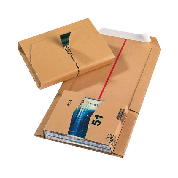 Jiffy Mailing Boxes 145 x 127 x 50mm Pack Of 20 JBOX-51