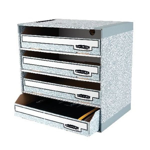 Fellowes Bankers Box System File Store Module - Pack of 5 - 01840