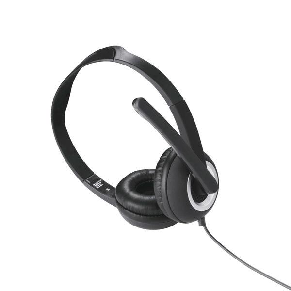 Hama HS 300 Stereo PC Headset On-Ear Black 53982