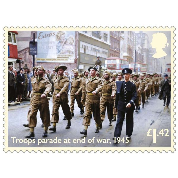 £1.42 Stamps x30 - End of Second World War