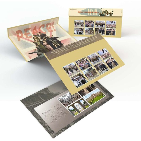 The End of the Second World War Presentation Pack