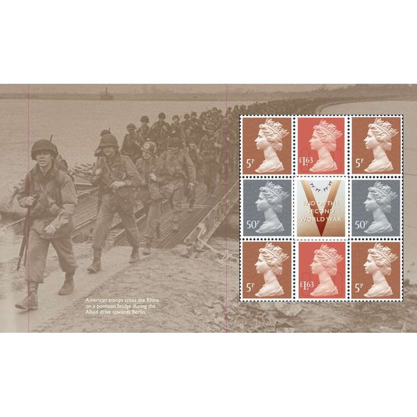 The End of the Second World War Prestige Stamp Book