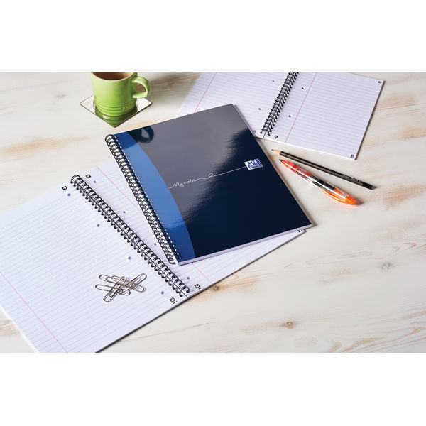 Oxford My Notes A4 Wirebound Notebook, Pack of 5 - 400020193