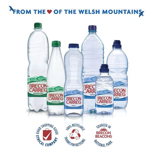 Brecon Carreg 1.5L Bottled Still Water (Pack of 12) - 50035330056