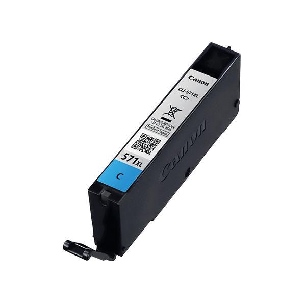 Canon CLI-571C XL High Capacity Cyan Ink Cartridge - CLI-571XL C
