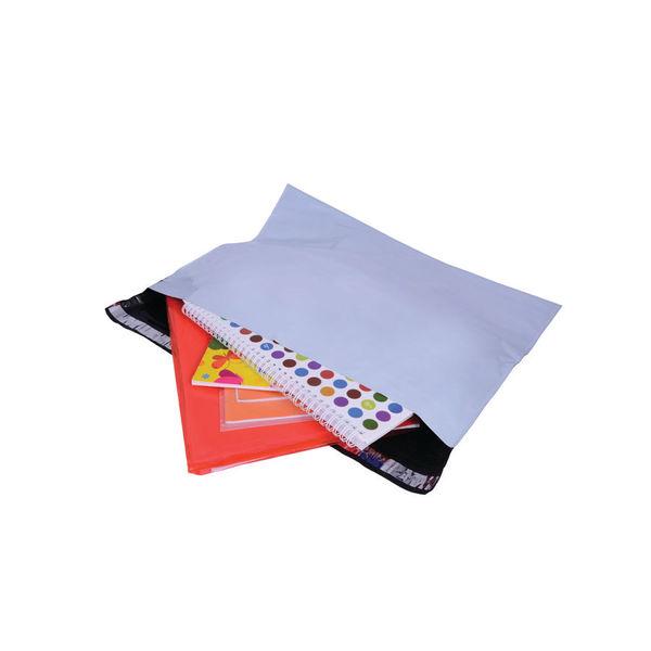 Gosecure Polythene Envelopes Peel / Seal Dx 440X320Mm White Pack Of 100