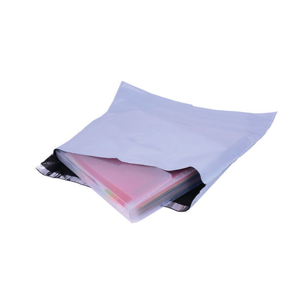 GoSecure 440 x 320mm Extra Strong Polythene Envelopes, Pack of 20 | PB26462