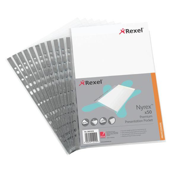 Nyrex Premium Presentation Pocket (Pack of 50) OEM: RX15210