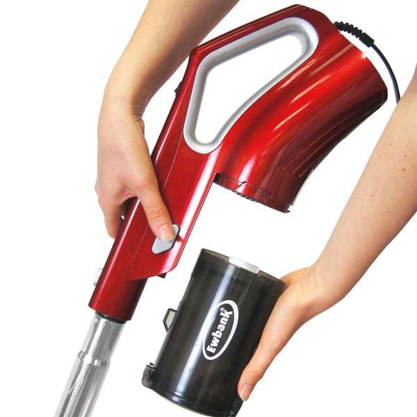 Ewbank Silver/Red 2-in-1 Corded Vacuum Cleaner - EW3021