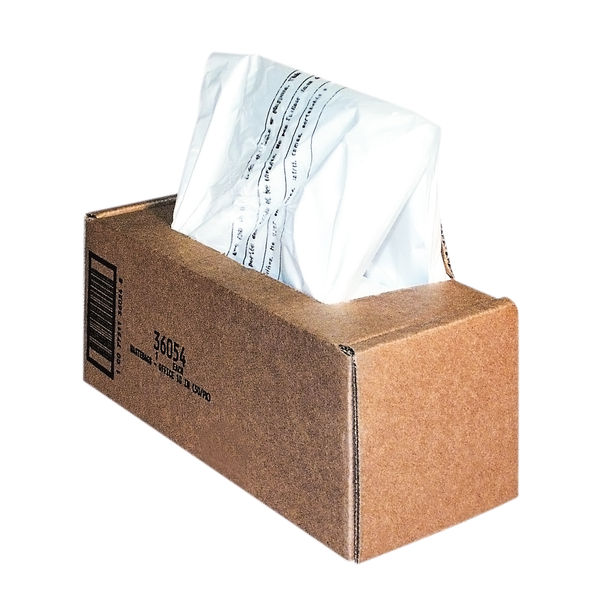 Fellowes 98 Litre Shredder Waste Bags, Pack of 50 | 36054