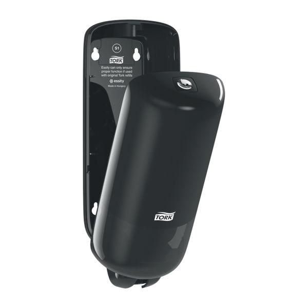 Tork Liquid and Spray Soap Dispenser Black 1L 291x112x114mm 560008