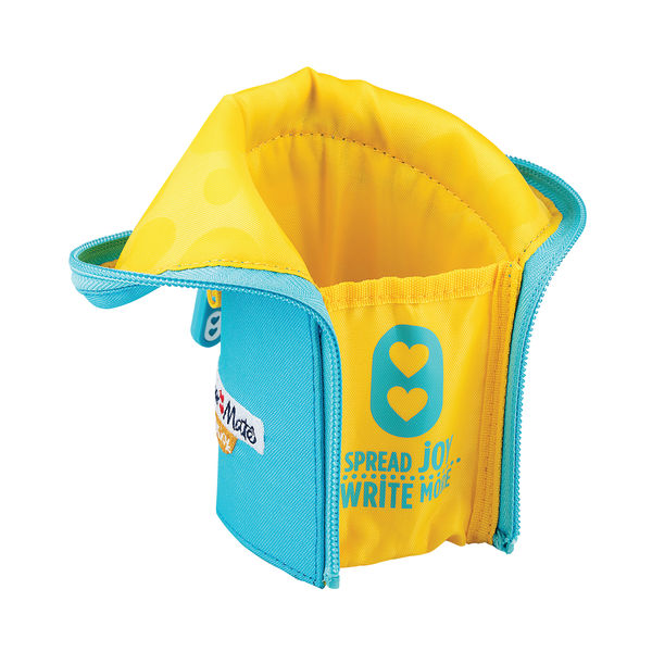Paper Mate Inkjoy Blue and Yellow Pencil Case – PMTECASE