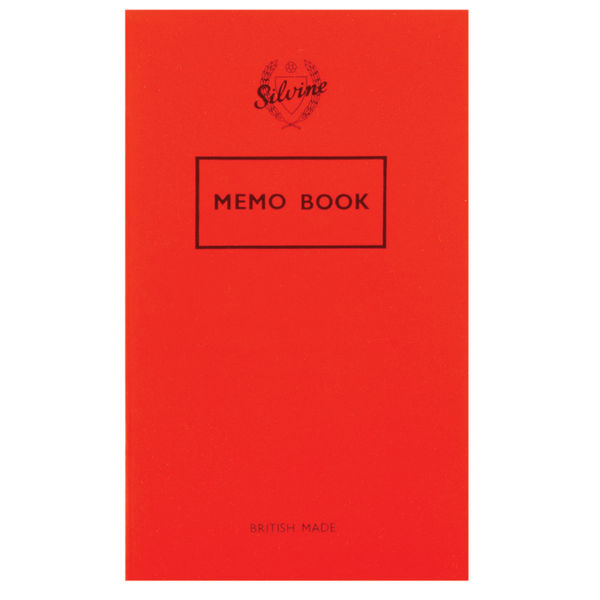 Silvine Feint Ruled Memo Book 159 x 95mm - Pack of 24 - Ref: 042