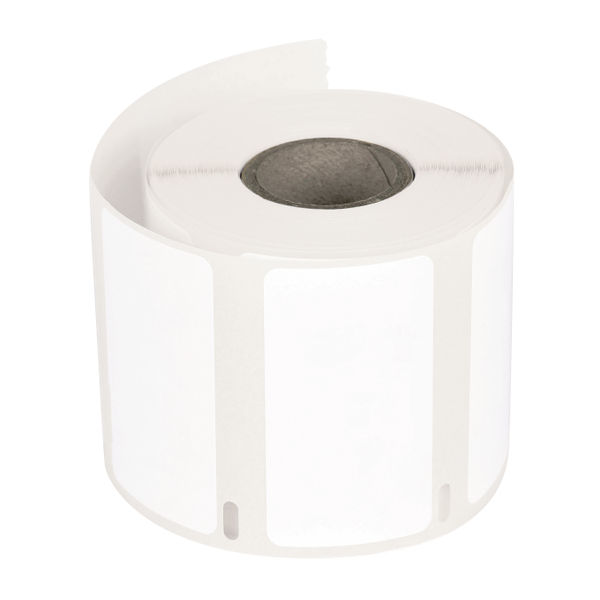 Q Connect Adhesive Easi Peel Address Files Label Roll Parcels White Packages