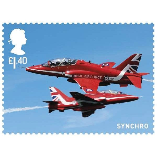 The Red Arrows Miniature Sheet - MZ130