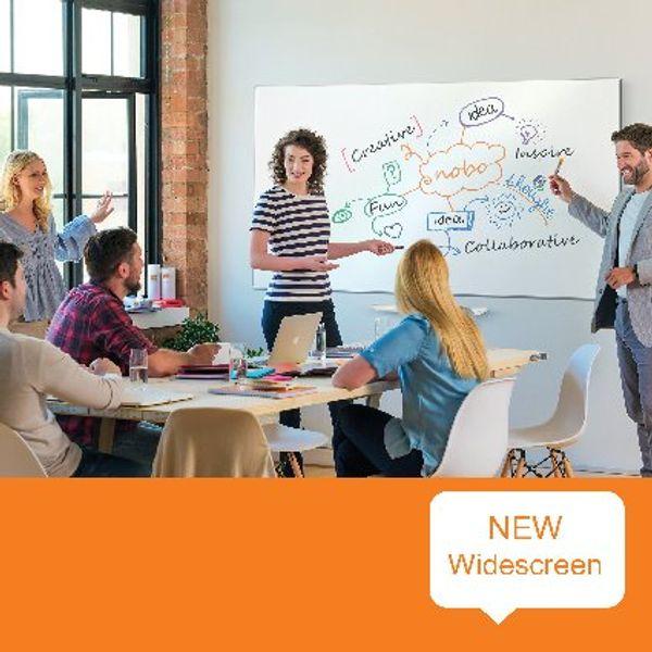 Nobo Widescreen Enamel Whiteboard 55 Inch 1905303